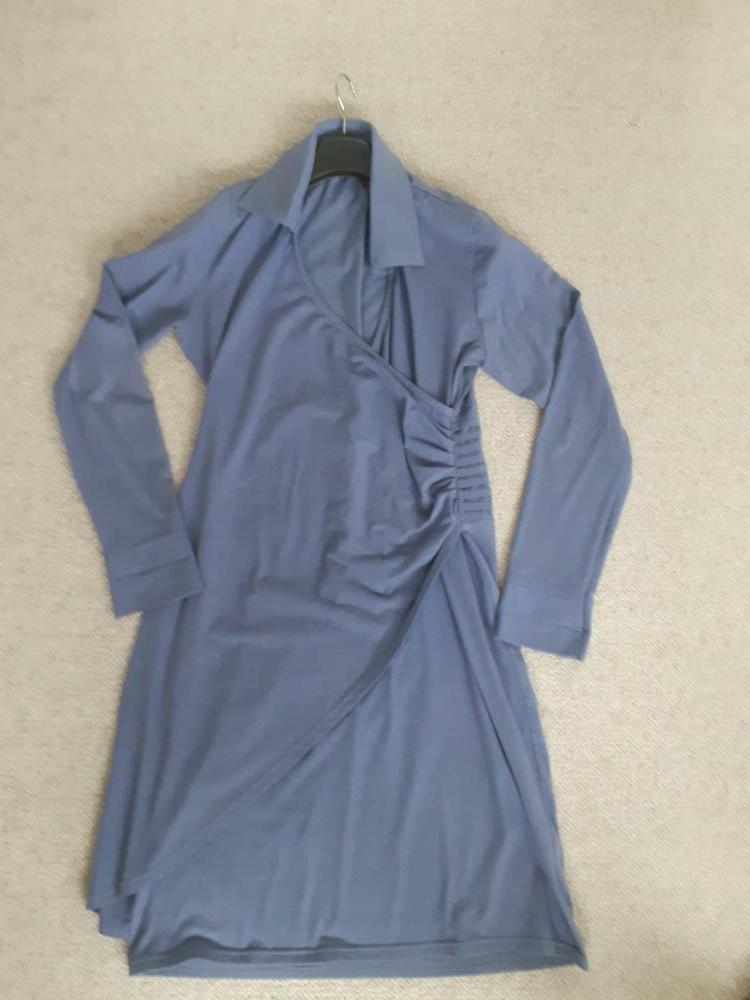 jurk lavendel blauw L