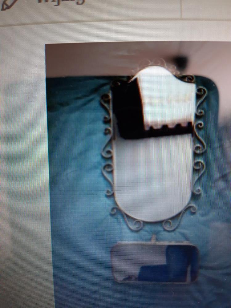 Vintage spiegel + plateautje