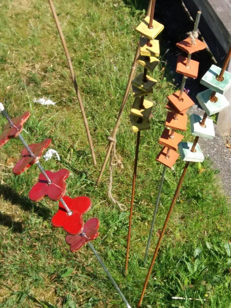 bloemborder stokken