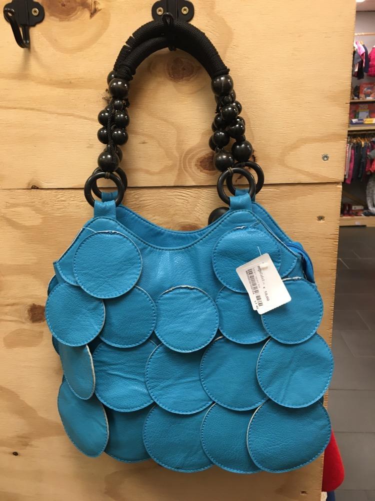 Handtas blauw