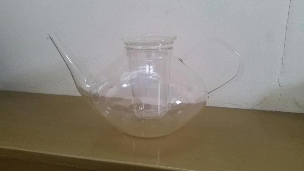 Glas theepot