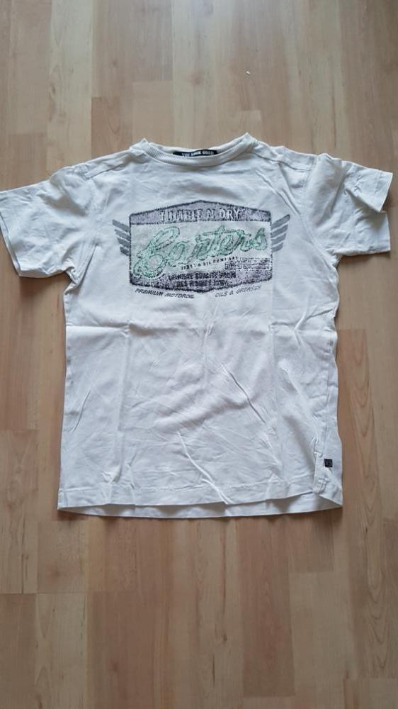 T-shirt wit tumble 'n dry 134/140