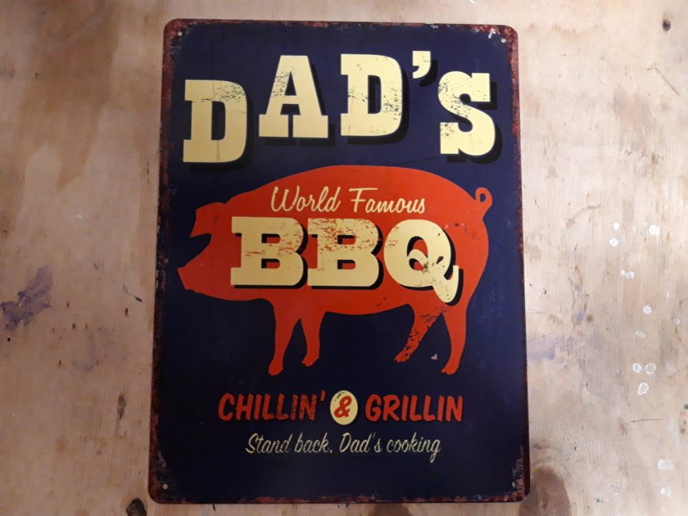 dad's world famous bbq
