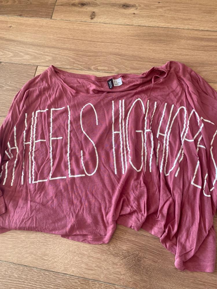 Top roze h&m