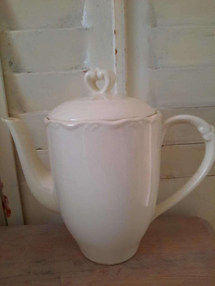 Oude koffiepot Boch