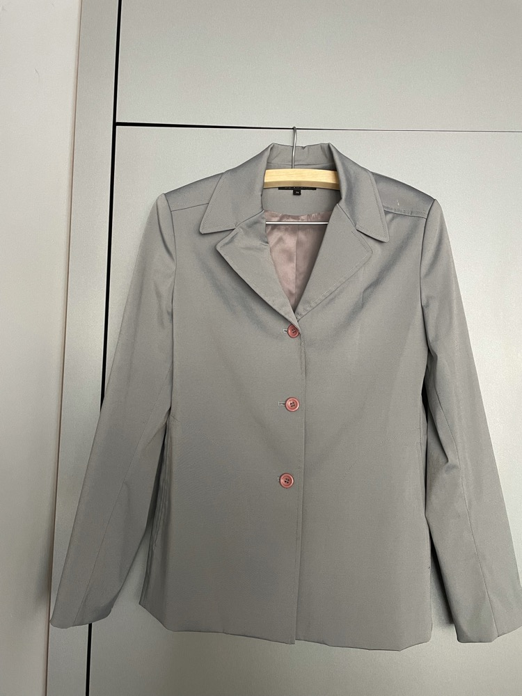 Prachtige blazer, zilver, mt 38, Jacqueline De Young