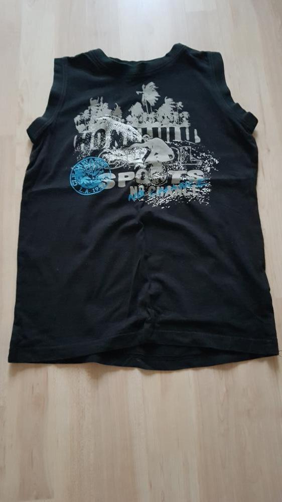 T-shirt zwart Dognose 134/140