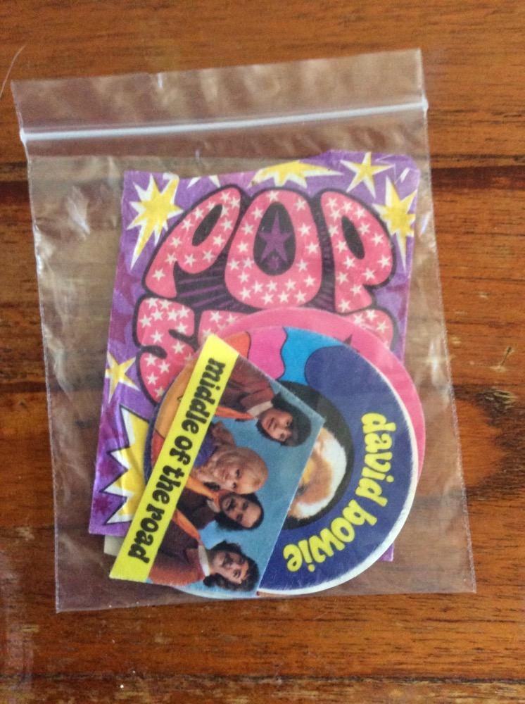 Pop stickers uniek