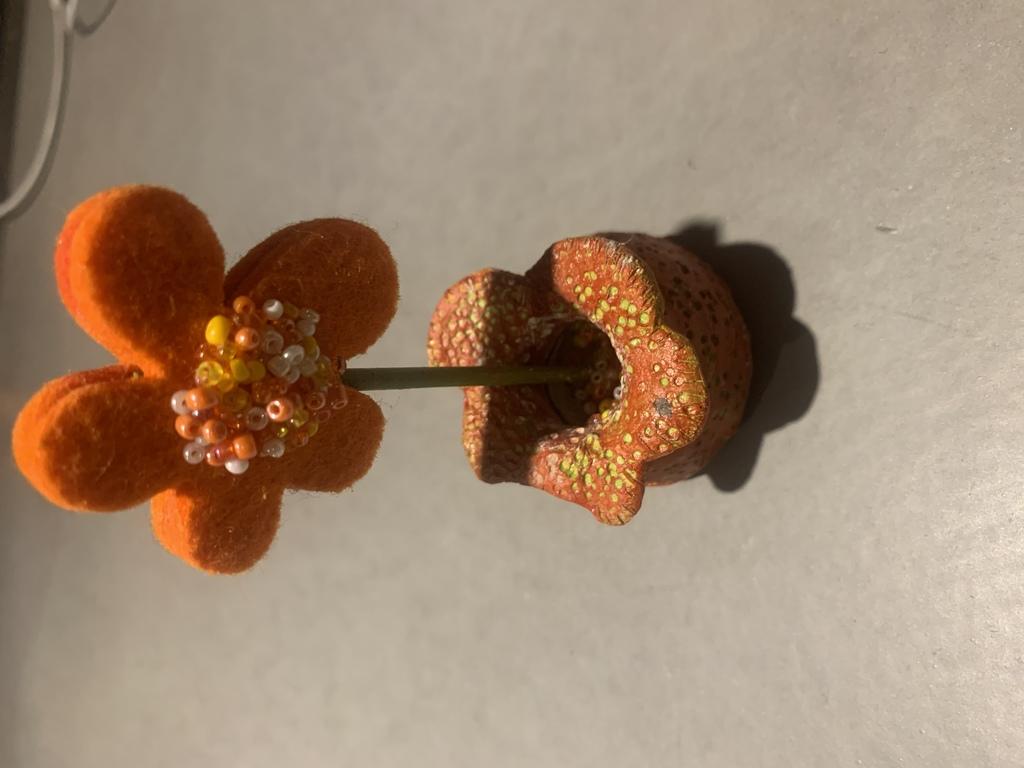 Potje bloem van Leonie