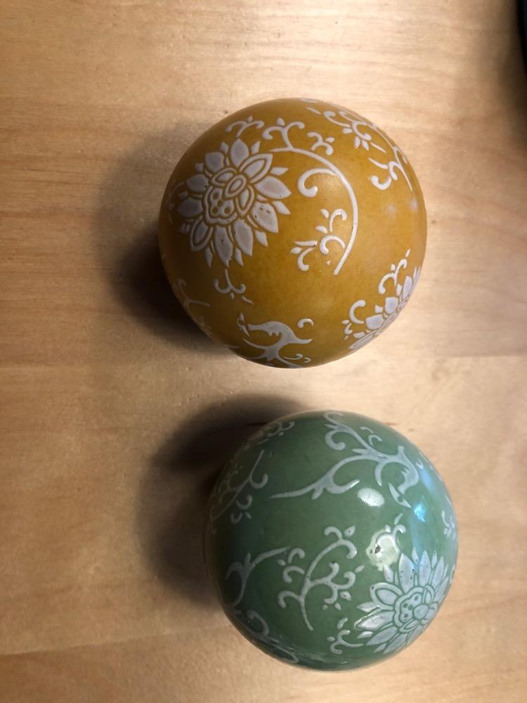 Ceramische sier ballen