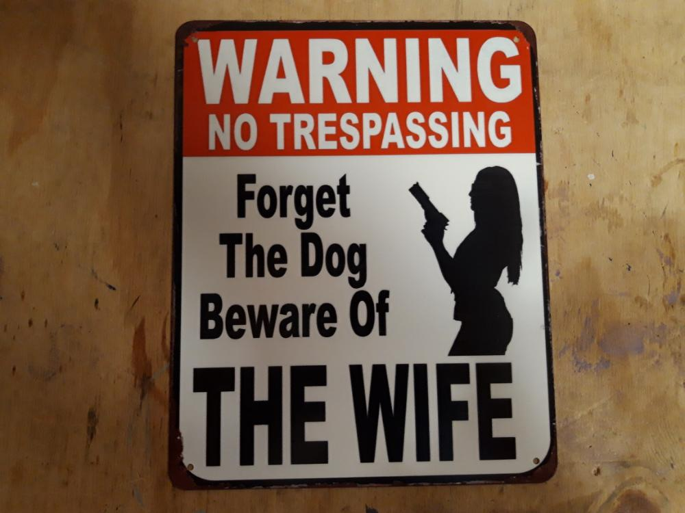 warning forget the dog